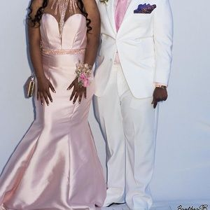 (Lowest Price) Clarisse Blush Pink Prom Dress